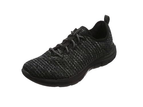 Skechers Flex Advantage 2.0-Cravy, Zapatillas para Niños, Negro (Black/Grey), 29 EU