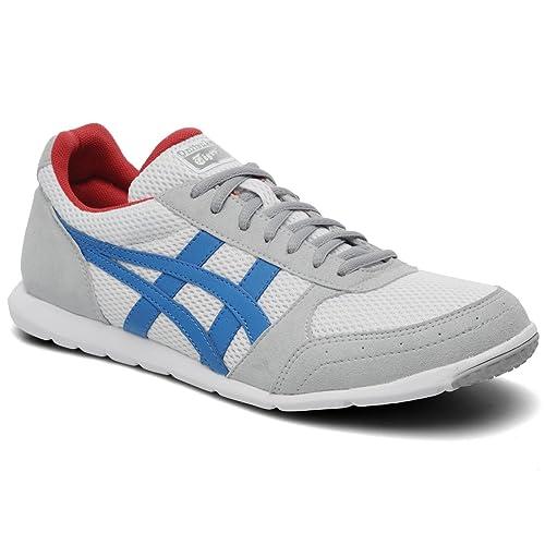 Onitsuka Tiger Sherborne Runner D416 N Hombre Zapatillas, color white-mid blue, tamaño 47: Amazon.es: Zapatos y complementos