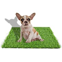 Artificial Grass Rug Turf for Dogs Indoor Outdoor Fake Grass for Dogs Potty Training Area Patio Lawn Decoration (23.62…