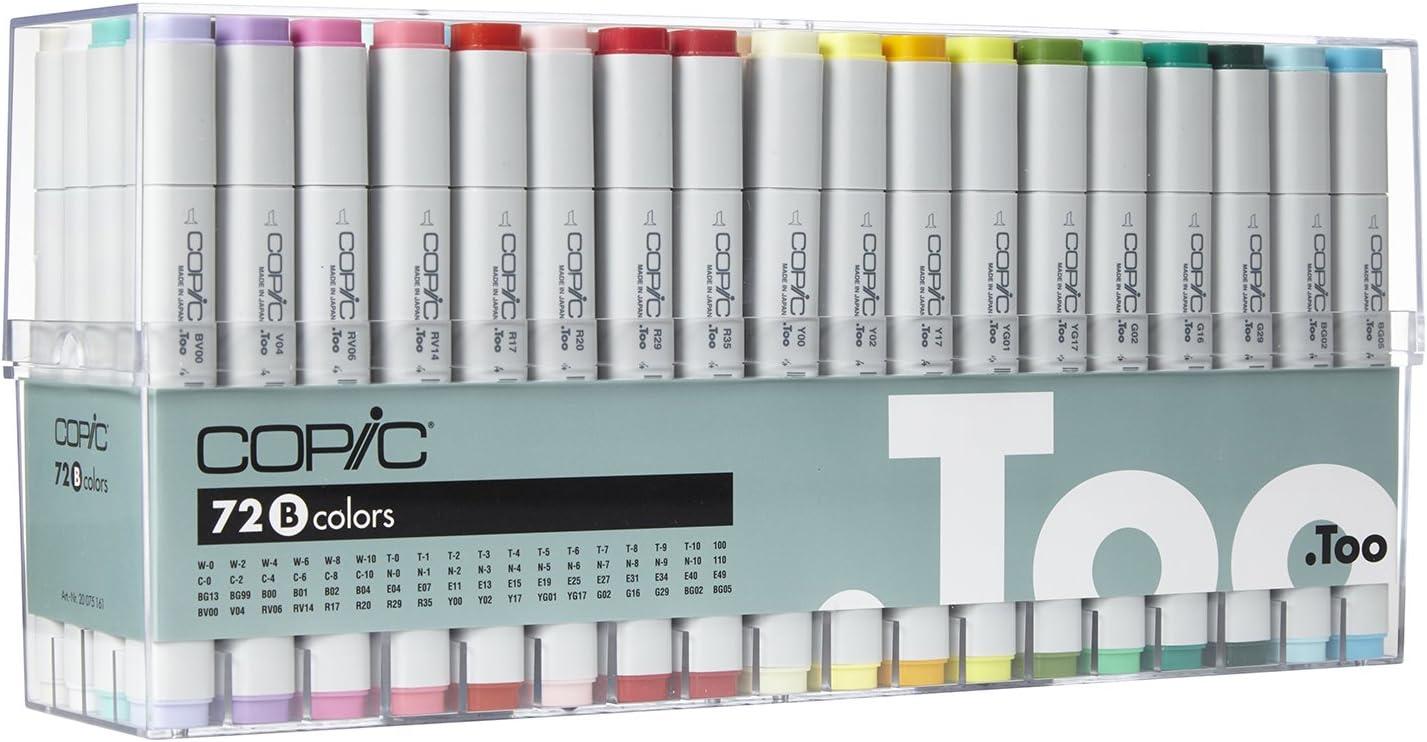 Marcador Copic Starte, color multicolor: Amazon.es: Oficina y papelería