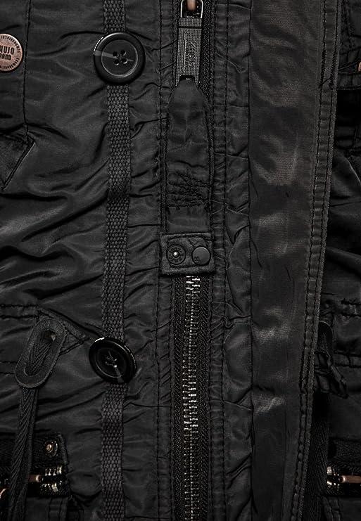 Khujo Damen Mantel CLAIRE 1001CO143, Gr. 42 (XL), Braun
