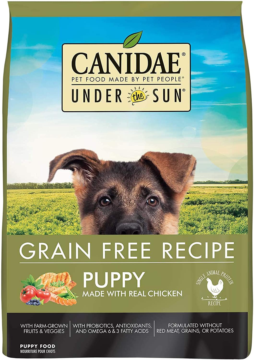 CANIDAE Grain Free Chicken for Puppies Dry Food