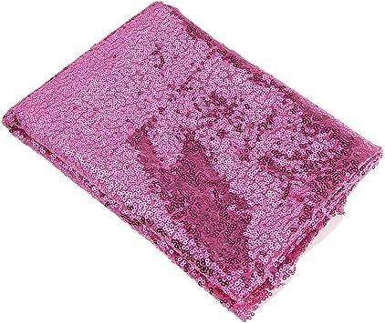Paillettenstoff Wendepailletten in rosa pink blau glänzend Meerjungfrau