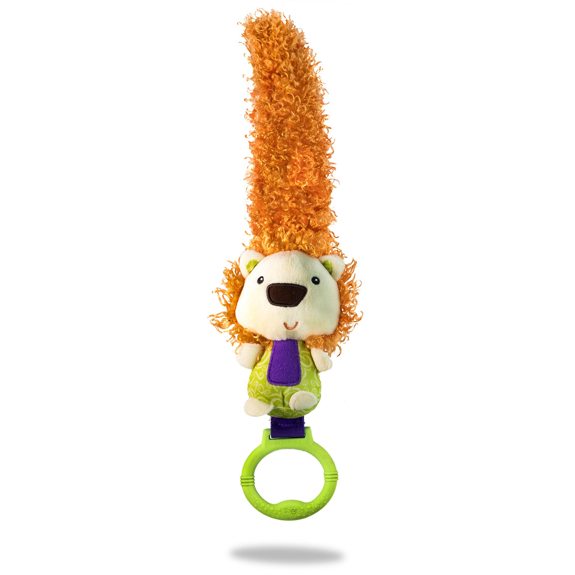 Yoee Baby Lion - A Developmental Newborn Baby Toy for Bonding and Play from Day One