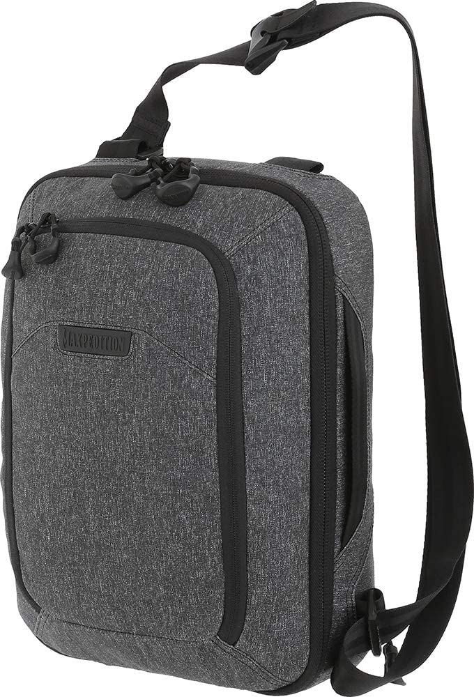 Maxpedition Louisville-Jefferson Daily bargain sale County Mall Entity Tech Sling Charcoal Large 10L Bag
