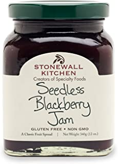 product image for Stonewall Kitchen Seedless Blackberry Jam, 12 Ounces