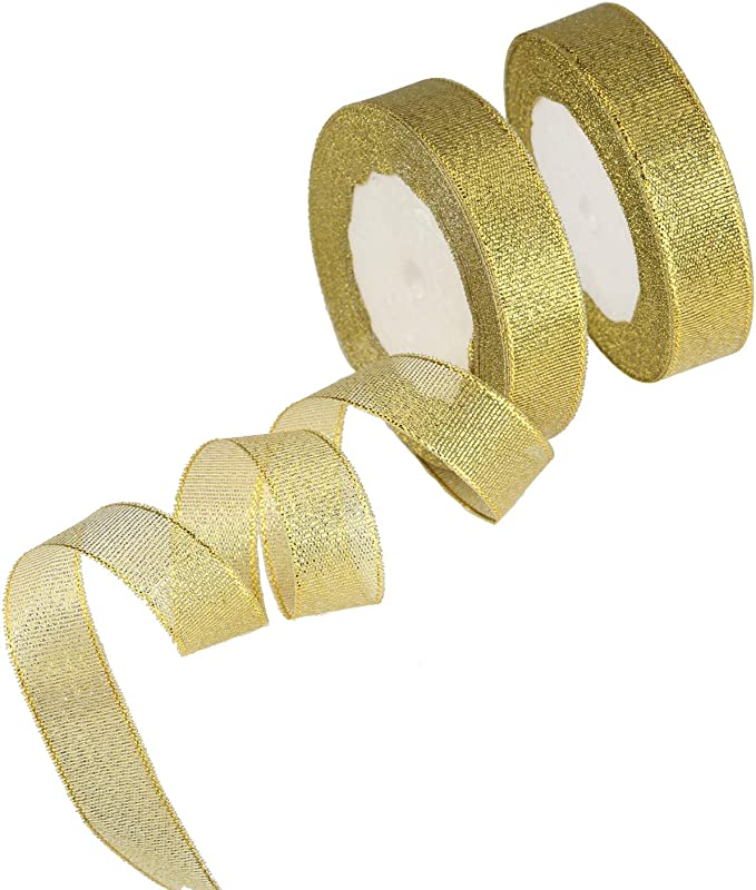 "50 Yards 1/"" Transparent Sheer Organza Ribbon Craft Wedding Decorative 20mm"