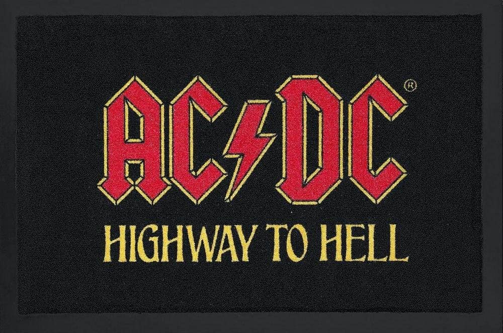 Paillasson AC//DC Highway To Hell