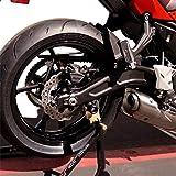 Amazon.com: STORM Green CNC Bar End Sliders For Kawasaki ...
