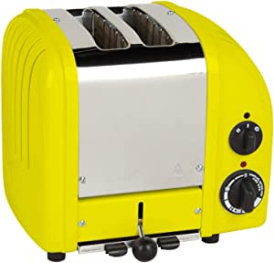 Dualit 2 Slice Classic Toaster, Citrus Yellow