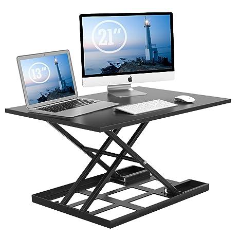 Amazoncom 1homefurnit Standing Desk Converter 32x22 Inch