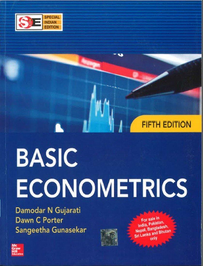 Buy Basic Econometrics Book Online at Low Prices in India | Basic ...