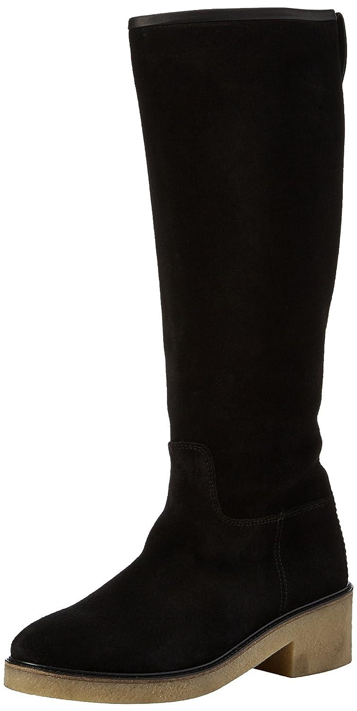 Tommy Hilfiger M1285ia 4b, Botas de Montar para Mujer41 EU|Negro (Black)