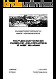 PARKPFLEGEKONZEPTION FÜR DEN KRAEMERSCHEN LANDSCHAFTSGARTEN IN ST. INGBERT IM SAARLAND: DIPLOMARBEIT AN DER FH WEIHENSTEPHAN FB LANDSCHAFTSARCHITEKTUR
