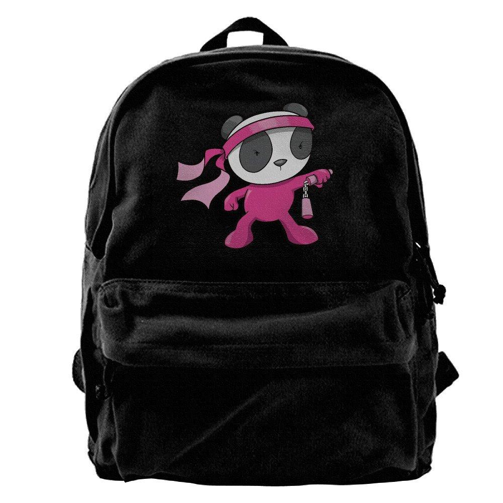 I Love BBQ Canvas Backpack School Rucksack Travel Backpack Laptop Backpack Black