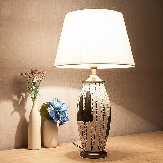 Lámparas de mesa de cerámica china Decoración del hotel ...