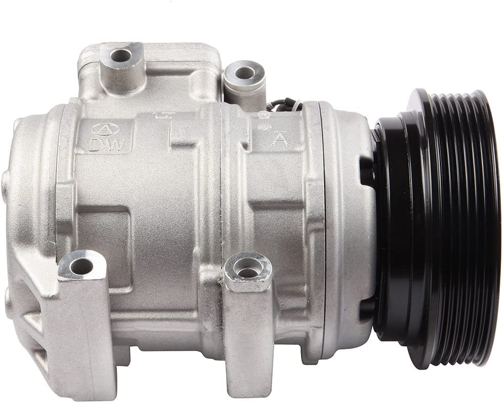 SCITOO Compatible with A//C Compressor with Cluth fits 2008 2009 2010 Kia Rondo 2.4L CO 10985C
