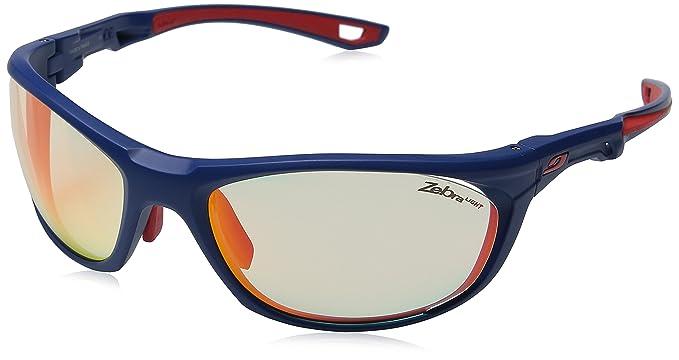 721dfbc1e1b5f9 Julbo Race 2.0 Lunettes de Soleil Homme, Bleu Rouge  Amazon.fr  Sports et  Loisirs