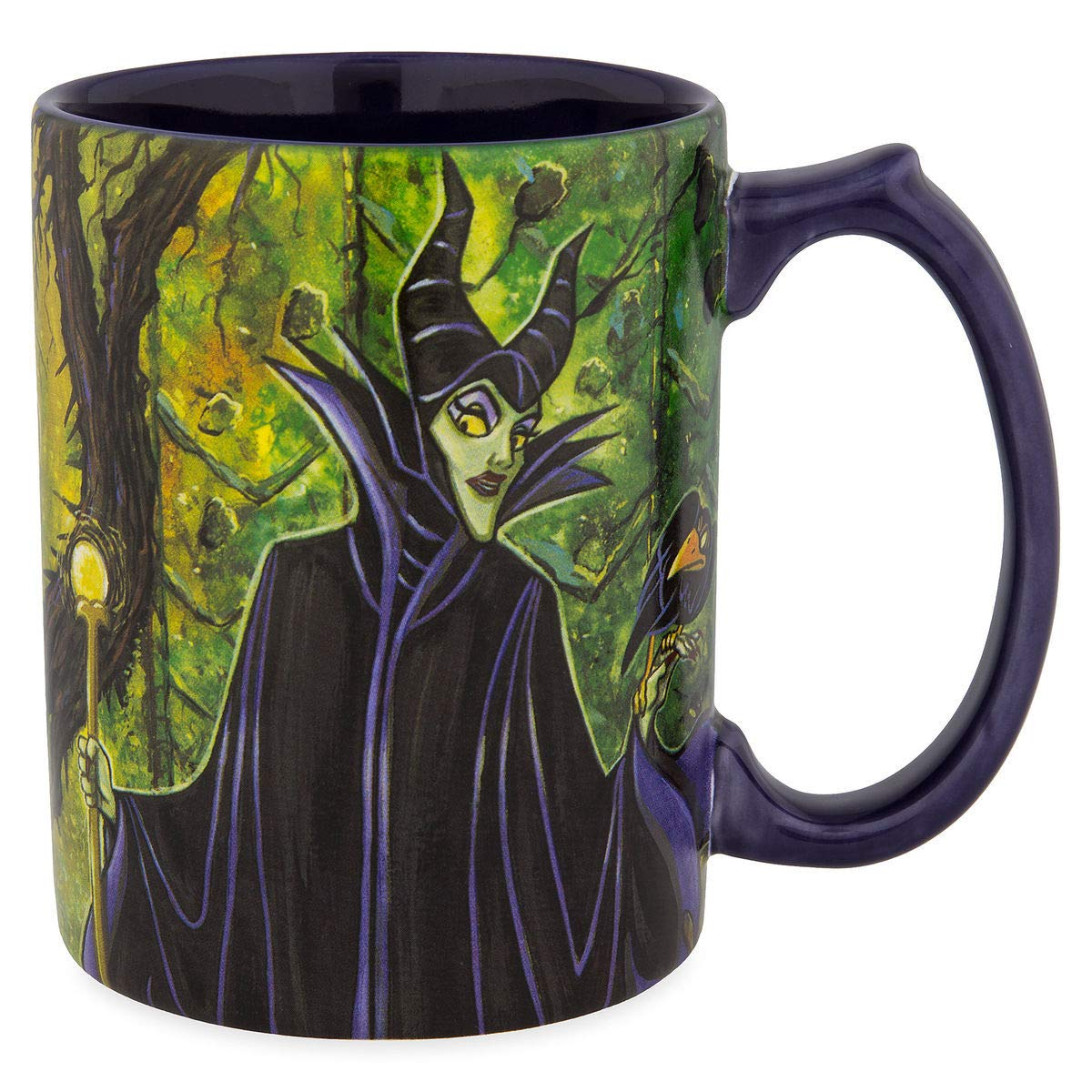 Disney Parks Maleficent Dragon Painting Style Mug