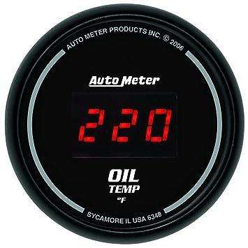 Amazon.com: Auto Meter 6348 Sport Comp 2 – 1/16