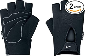 Nike Training Gloves Half Finger Men/'s Workout Gym Weight Lifting