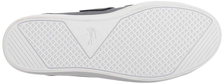 Lacoste Women's Straightset Strap 118 1 Caw Sneaker B071KB4MNT 9.5 B(M) US Navy/White