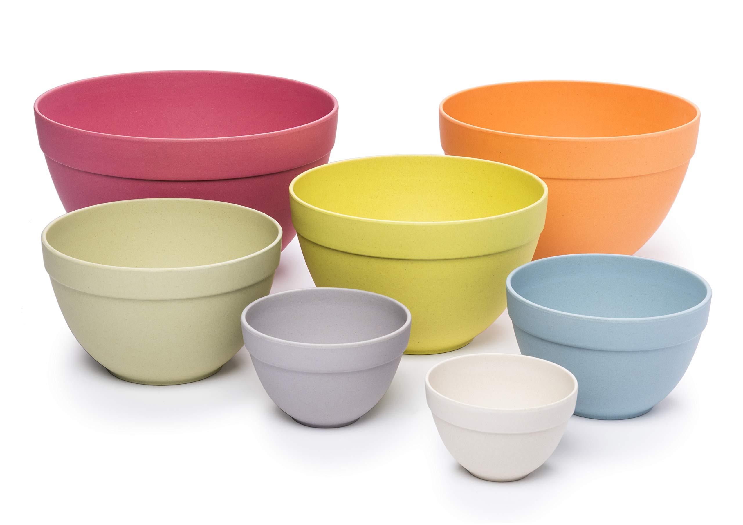 Bamboozle BZ0303NB Seven Piece Pastel Nesting Bowls by Bamboozle (Image #3)