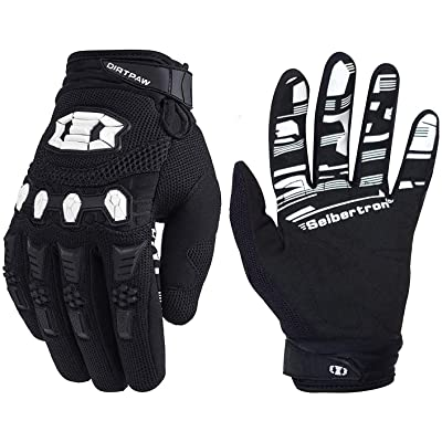 Seibertron Dirtpaw Unisex BMX MX ATV MTB Racing Mountain Bike Bicycle Cycling Off-Road/Dirt Bike Gloves Road Racing Motorcycle Motocross Sports Gloves Touch Recognition Full Finger Glove: Sports & Outdoors