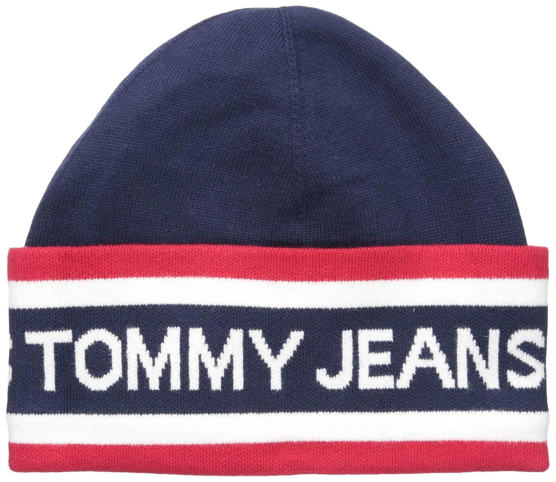 Tommy Hilfiger Men s Beanie Heritage Logo Hat 87636ef3640