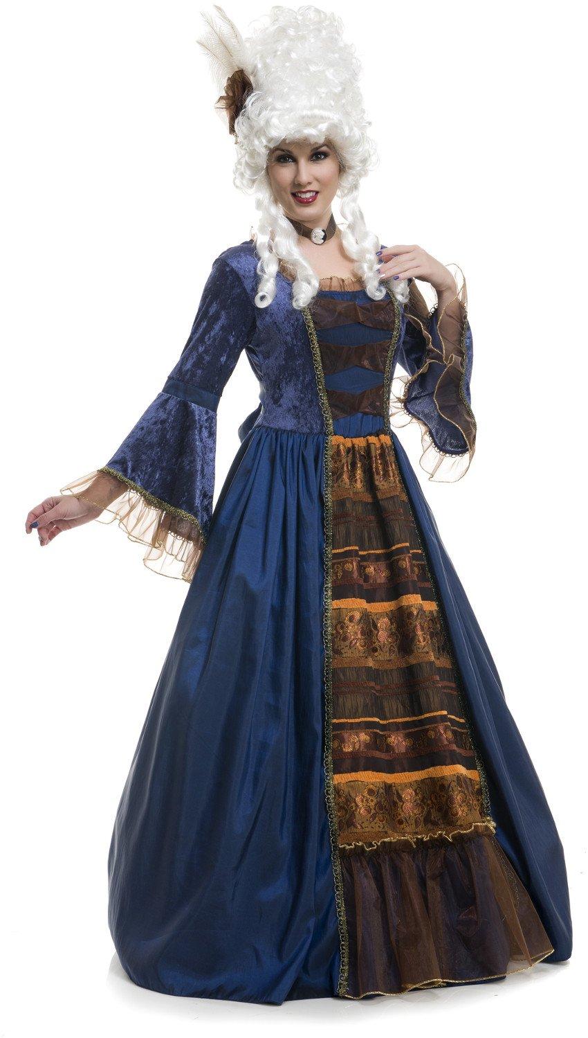 Amazon.com: Charades Women\'s Victorian Ball Gown Deluxe Taffeta Full ...