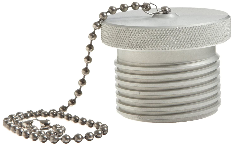 1-1//4 Coupling Dust Plug Dixon 10WSDP-A Aluminum Hydraulic Fitting