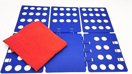 Nifogo Doblador de Ropa - Tabla para Doblar la Ropa - Placa Ayuda para Plegar la Ropa Camisetas Tablero para Plegar Camisas 70x59cm