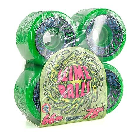 Santa Cruz canallas 2011,68 cm s 78 A ruedas de Skate verde 66 mm ...
