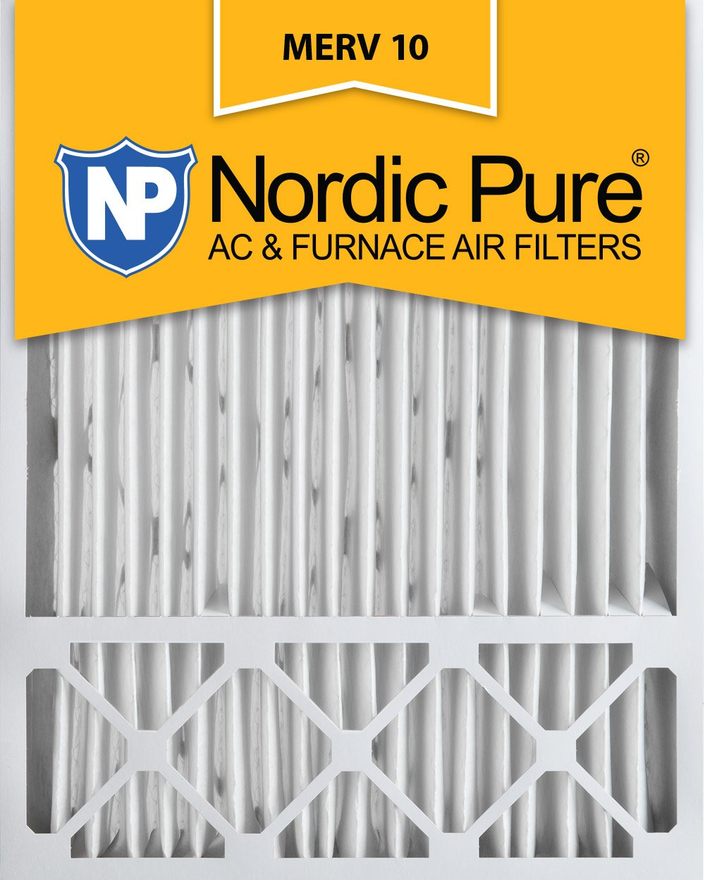 Nordic Pure 20x25x5 (4-3/8 Actual Depth) MERV 10 Honeywell Replacement  Pleated AC Furnace Air Filter, Box of 2 - Replacement Furnace Filters -  Amazon.com