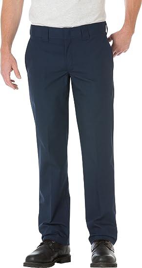 Dickies - WP805 Slim Straight Fit Pantalon de travail en popeline pour homme  - 20375bc6e6e