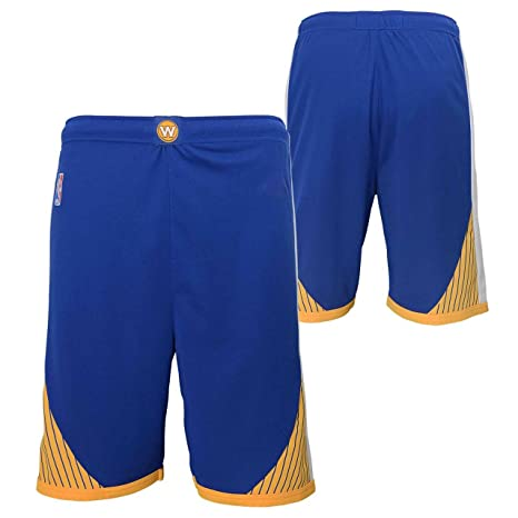 Image Unavailable. Image not available for. Color  Youth Golden State  Warriors New Blue Replica Basketball Shorts ... c8be31e40