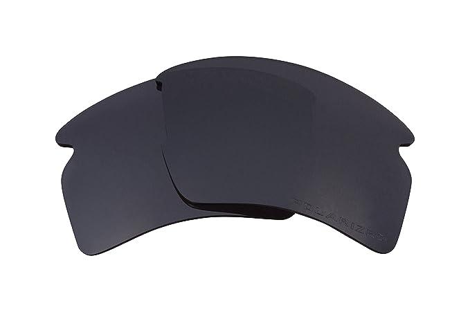 Seek Optics Replacement Lenses for Oakley FLAK 2.0 XL, Black Iridium ...