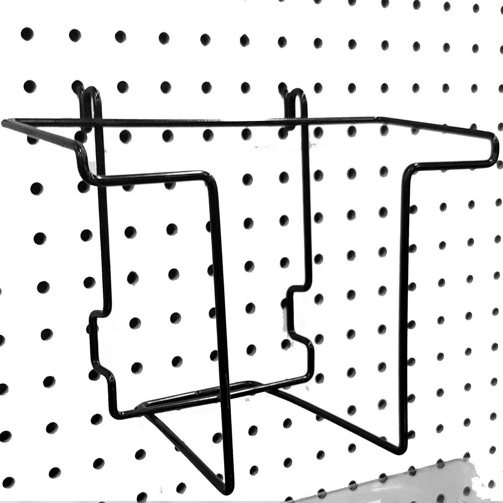 Wire Magazine Holder for Slatwall, Pegboard & Gridwall, Holds Literature 8.5'' W x 11'' H, 24 Pack