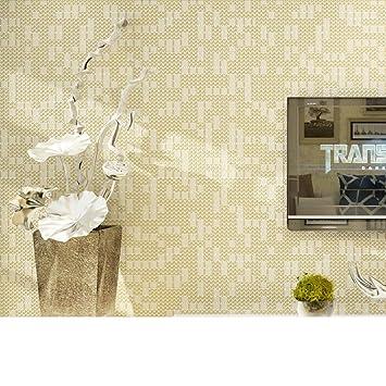 moderne minimalistische Tapeten/einfarbige schlichte/Vlies-Tapeten ...