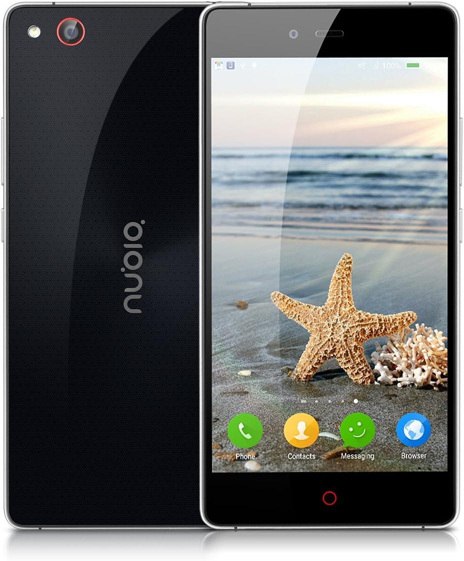 Nubia Z9 MAX DE 5.5 Pulgadas, 4 G LTE de Smartphone sin Contrato ...
