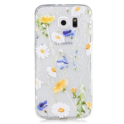 8 opinioni per Samsung Galaxy S6 Custodia, CXTcase Galaxy S6 Cover Silicone Trasparente Morbido