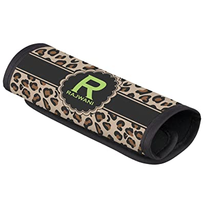 Granite Leopard Luggage Handle Cover (Personalized)