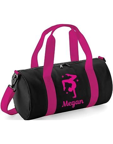 2e6110e1e3 Beyondsome Sac de sport pour femme/fille personnalisable Motif gymnaste en  appui tendu renversé avec