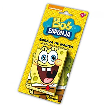 Bob Esponja - Baraja Infantil con 40 Cartas (Naipes Heraclio ...