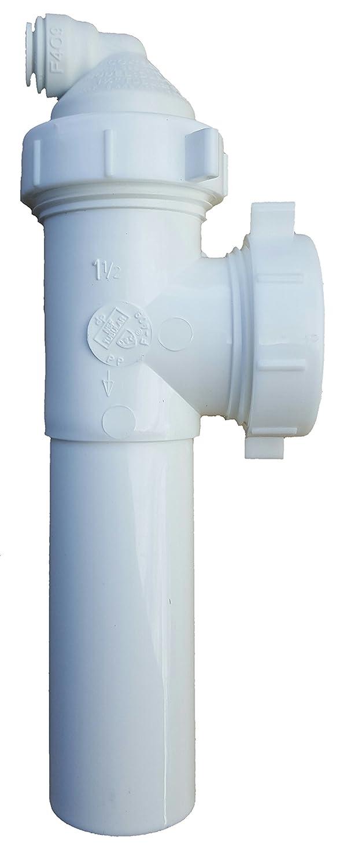 Eco-Tech 9-25QC Reverse Osmosis RO Drain Line Adapter, 1/4\