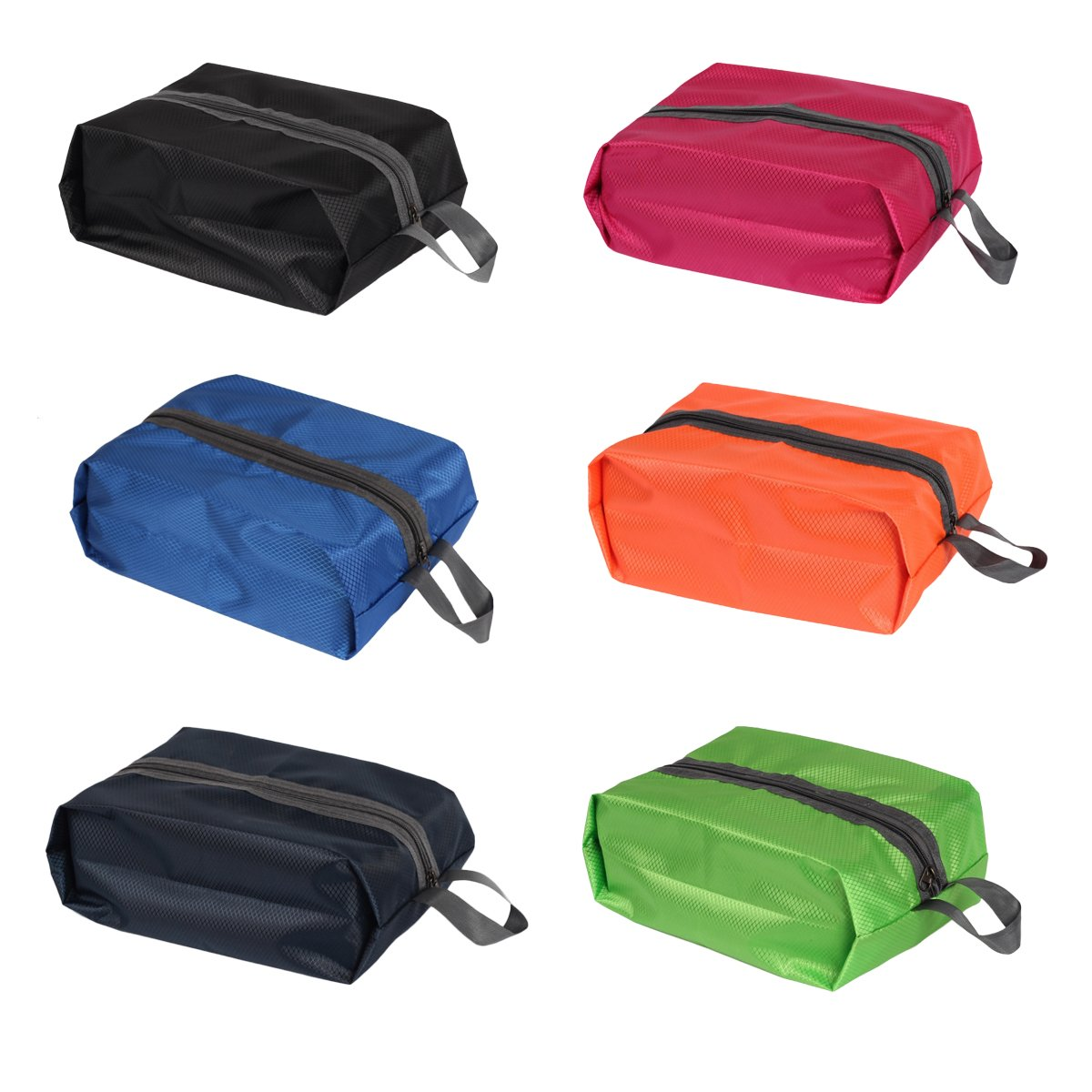 LaRosa Travel Shoe Bags Packing Cube Sliper Shoe Bags Bra Bag Underwear Bags Lingerie Bags T-shirt Bag 6 Colors