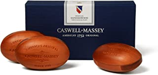 product image for Caswell-Massey Bar Soap Triple Milled Luxury Mens Soap 5.8 s Woodgrain 3 Body Soap Bars Woograin 17.4 Ounce (Pack of 3)