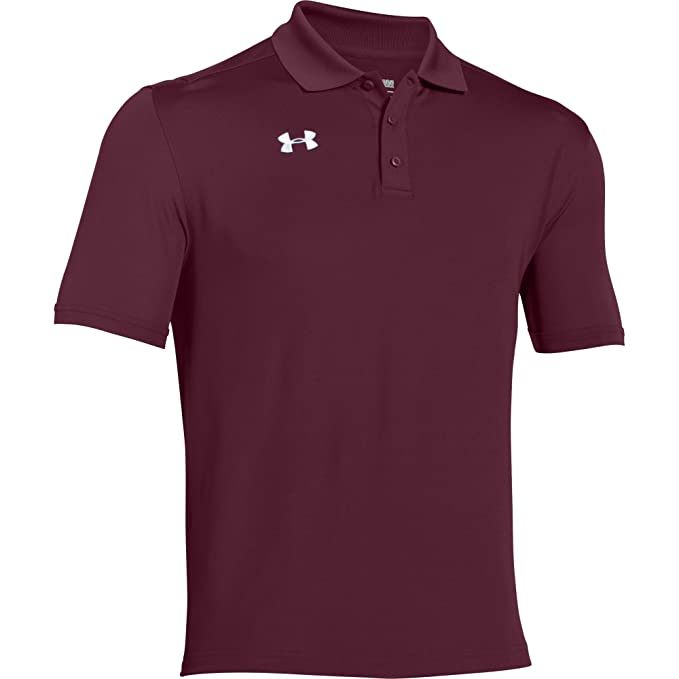 Under Armour Team Armour Polo para hombre., XXXL, Granate: Amazon ...