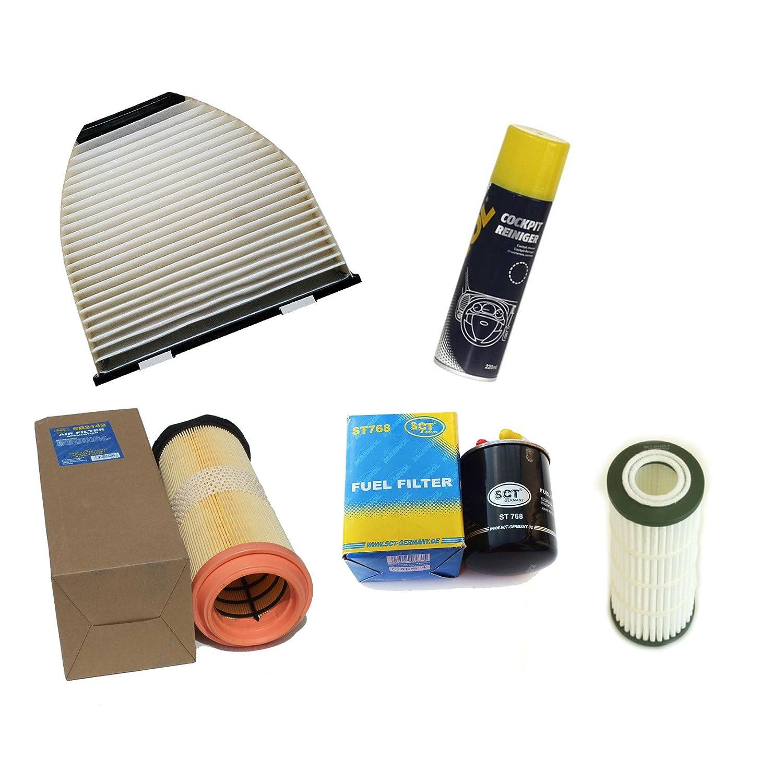 Inspektionspaket Filteristen Pollenfilter SCT Luftfilter Ö lfilter Kraftstofffilter Geschenk SCT Germany