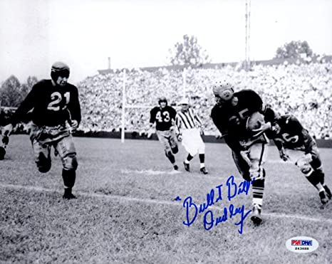 386626ba3 Bullet Bill quot  Dudley Autographed 8x10 Photo Pittsburgh Steelers